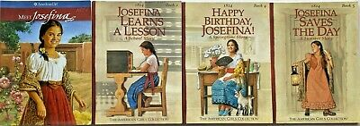 AMERICAN GIRL Lot 4 JOSEFINA 1 2 4 5 Meet School Story Birthday Saves the Day VG