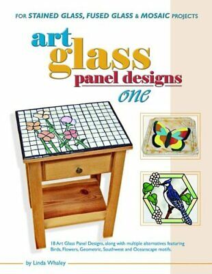 Art Glass Panel Designs One: For Stained Glass, fused Glass & Mosaic