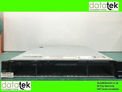 DELL POWEREDGE R720 2U RACK SERVER -  2x E5-2609, 16GB, PERC H710, I DRAC 7