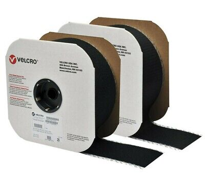 """4"""" Wide VELCRO® Brand High Tack Self Adhesive Tape Strip Set -Buy the Foot-"""
