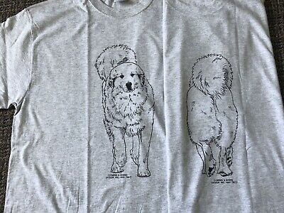 Great Pyrenees Unisex T-shirt Small Light Gray Color
