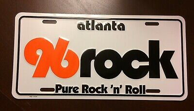 96 Rock Tag - Atlanta Pure Rock 'n' Roll