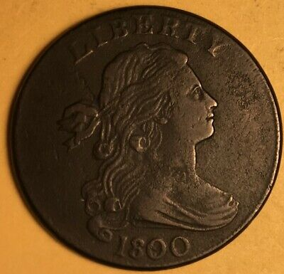 1800/99 Draped Bust Large Cent, Very Fine,  S-194 R-3
