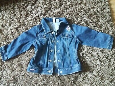 girls GAP denim jacket age 3 yrs floral