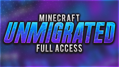Minecraft Unmigrated Full Access Account ⭐Java Edition⭐ Lifetime Warranty