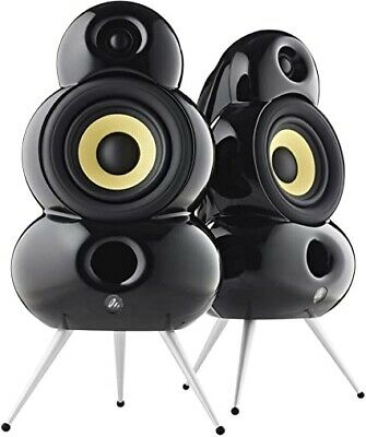New Pair of Scandyna Smallpod Speakers in Black