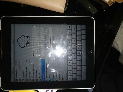 Original 1st Gen Ipad A1337 64gb WiFi + Cellular  *Working*