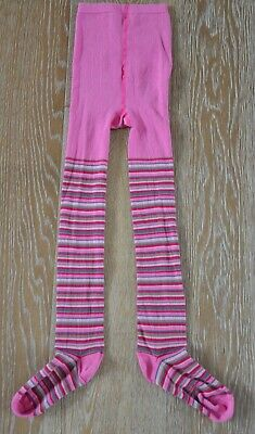 Room Seven/Oilily Girls Striped Tights Size Euro 122/US 5-6 NWOT