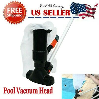 Cleaning Maintenance Swimming Pool Kit with Vacuum Head and Pole Cleaning Tools
