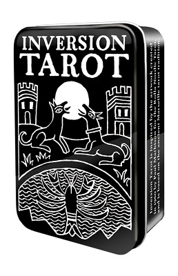 Inversion Tarot in a Tin 78 Cards Deck + 64 Page Guidebook - NEW!
