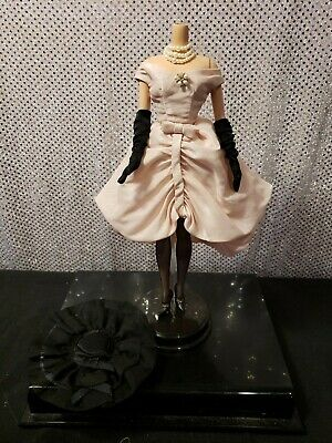 Blush Becomes Her Silkstone Barbie Doll Dress Outfit Fits Fashion Royalty Fr