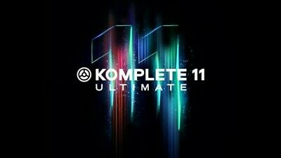 Native Instruments Komplete 11 Ultimate Full License Transfer eDelivery