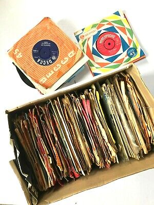 "Job Lot / Record Collection of 165+ 1960's 7"" Singles POP / ROCK / CHART / Decca"