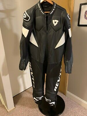 Rev'It! Akira Leather Riding Suit Size 56 One Piece Worn Once!