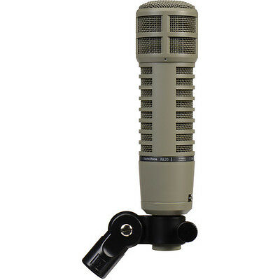 ELECTRO-VOICE RE20 MIC EV RE-20 BROADCAST MICROPHONE - Industry Pro Standard!!!