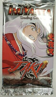 Inuyasha Jaki TCG/CCG 12 Sealed Booster packs New