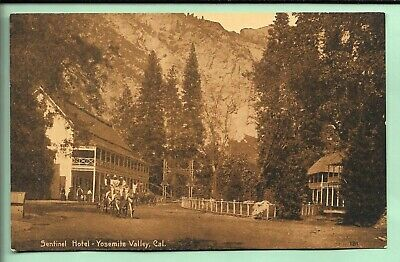 Sentinel Hotel. Stage. Yosemite National Park, California.