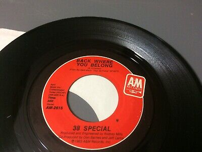 38 Special Back Where You Belong ~ Undercover Lover Ps V 7 45 Cg