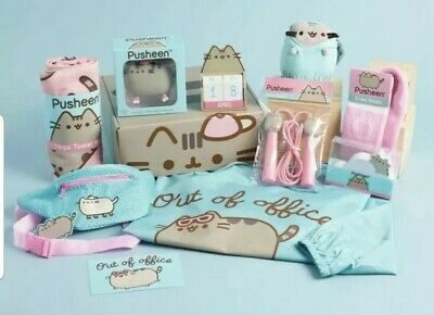 Pusheen Box X LARGE Subscription Box Complete Spring 2019 Collection~New~
