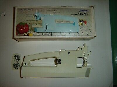 Vintage 1972 Portable Sewing Machine Ronco Cordless