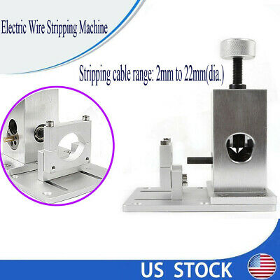 Stripping Machine Electric Wire Copper Cable Peeling Stripper Metal Recycle Tool