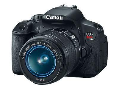 Canon EOS Rebel T4i / EOS 650D 18.0MP Digital SLR Camera - Black (Kit w/ EF-S...