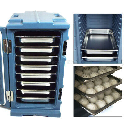 Commercial 90L Insulated Hot / Cold Food Carrier Thermal Dish Pan Containers US