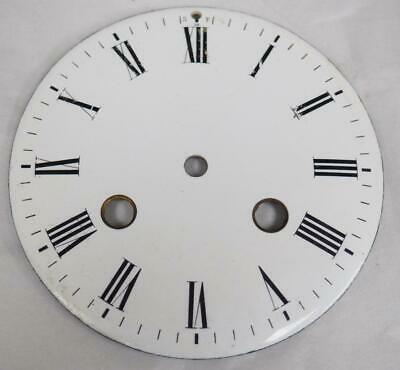 Antique French Enamelled Mantel clock Dial Clock Spare Striking Dial 10.7cm