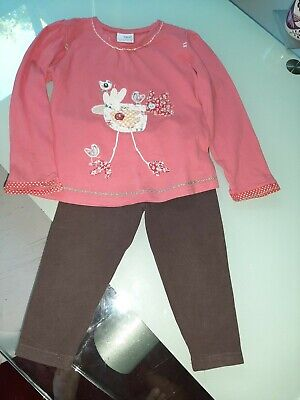 Girls Next Leggings And Top Set Age 3-4 Years