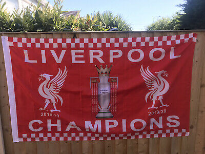 Liverpool Champions Flag 2019/2020 5ft x 3ft