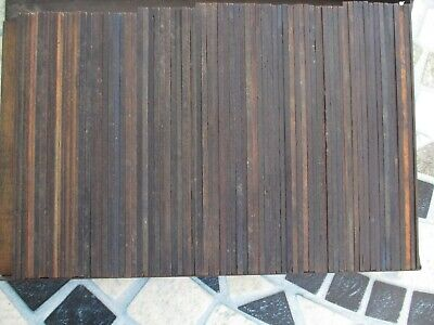 88 Pieces Letterpress Printing 6 And 12 Pt Wood Reglets In Various Lengths