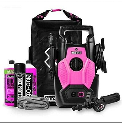 Muc Off Bicycle And Motorcycle Pressure Washer Cleaning Bundle Kit New
