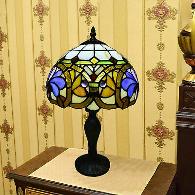 Tiffany style Stained Glass 10 inch Lamp Shade Beautiful Hand Crafted lighting