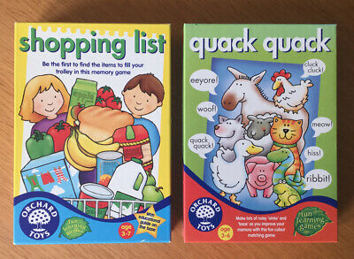 Orchard Toys - Quack Quack and Shopping List