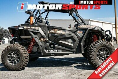 2018 Polaris RZR XP 1000 EPS High Lifter Edition Stealth Black, GRAY  with 384 M
