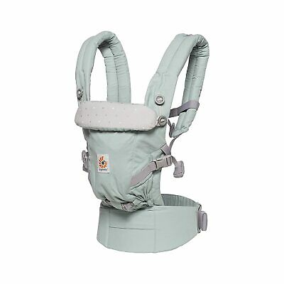 Ergobaby Adapt Unisex Frosted Mint Baby Carrier BCAPEAMINT**Open Box**