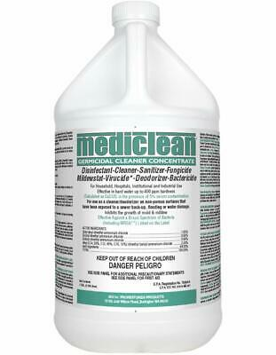 New 1 Gallon Mediclean Germicidal Cleaner Concentrate Disinfectant, Virucide