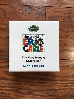 The Very Hungry Caterpillar Curl/tooth Box Keepsake Baby Infant Gift Cute