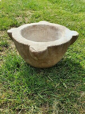 Antique Marble Mortar