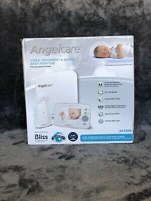 Angelcare AC1300 3-in-1 VIDEO, MOVEMENT & SOUND BABY MONITOR