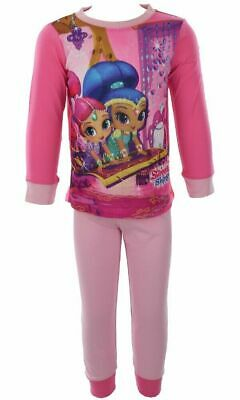 Shimmer And Shine Girls Pyjamas Age 1.5-2-3-4-5 Years Long Ex Store Pjs NEW