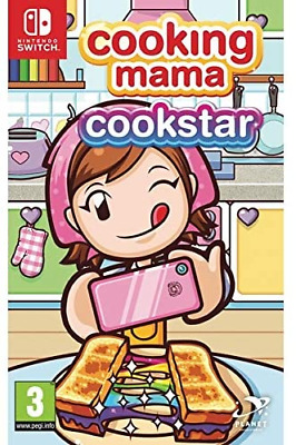 Cooking Mama: Cookstar (Nintendo Switch, 2020) Brand New - Region Free