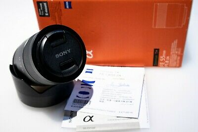 Sony ZEISS FE 55mm f/1.8 ZA Lens in Pristine Condition with Extras