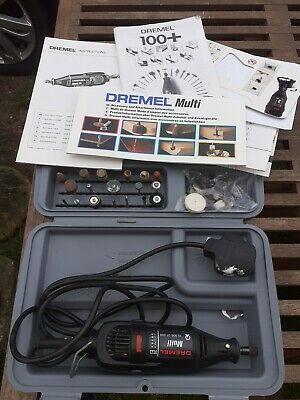 Genuine Dremel Multi Corded Multi Tool With Accessories/Case**Had Little Use**
