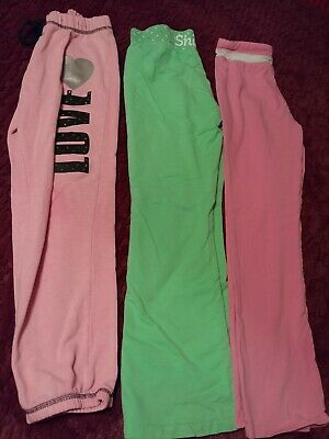 Girls Pajama Lounge Pants Lot of 3 pairs