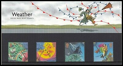 2001 GB The Weather Royal Mail Mint Stamps Presentation Pack No.321