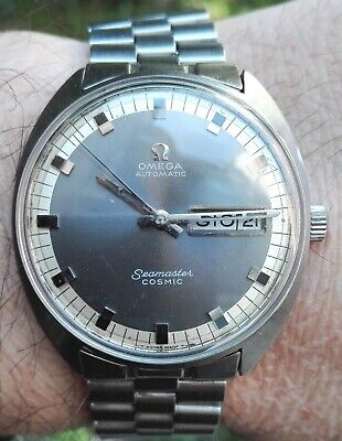 OMEGA SEAMASTER COSMIC ! 166036-TOOL 107 AUTOMATIC VINTAGE 70's day date