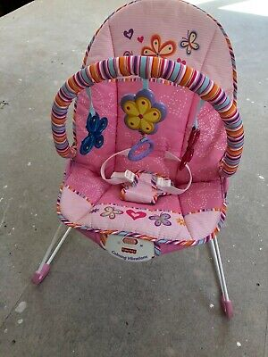 Fisher Price vibrating baby bouncer rocker chair