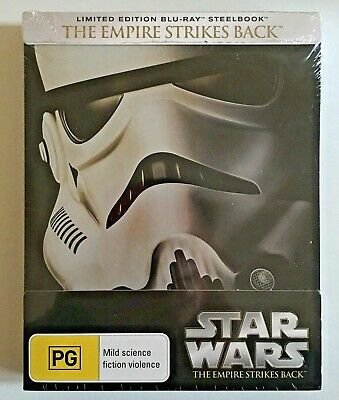 NEW Star Wars V The Empire Strikes Back Bluray OOP Steelbook Hamill Ford Fisher