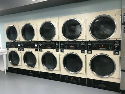 5 stacked Commercial Dryers , You Have To Pick It Up Before 6/2/2020